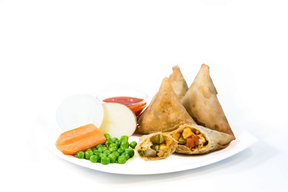 Vegetable Samosa Without Onions